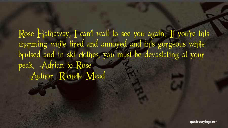 Can't Wait To See You Again Quotes By Richelle Mead