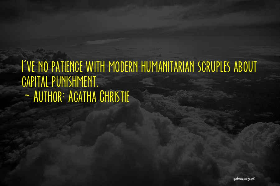 Capital Punishment Quotes By Agatha Christie