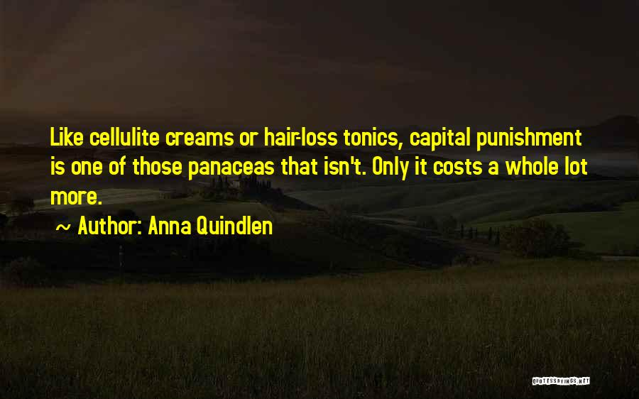 Capital Punishment Quotes By Anna Quindlen