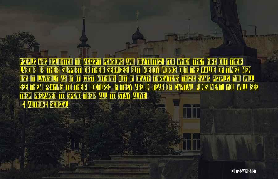 Capital Punishment Quotes By Seneca.