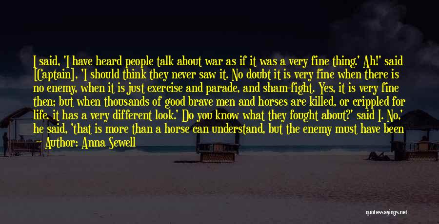 Captain Sham Quotes By Anna Sewell
