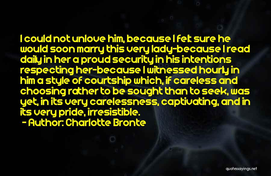Captivating Quotes By Charlotte Bronte