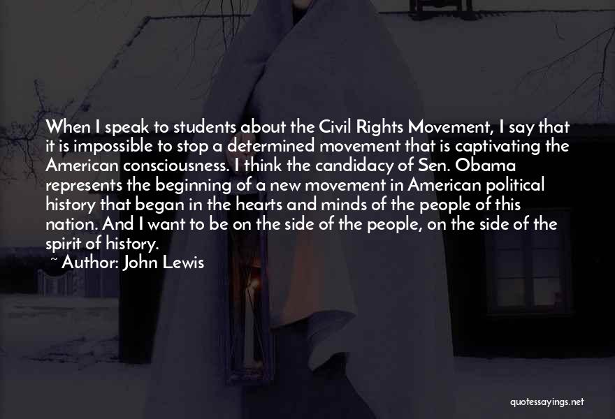 Captivating Quotes By John Lewis