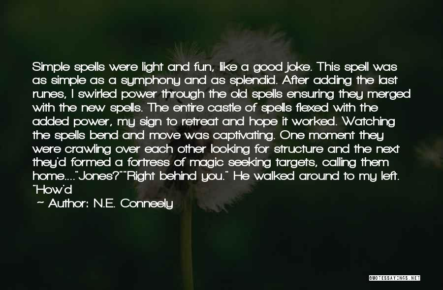Captivating Quotes By N.E. Conneely