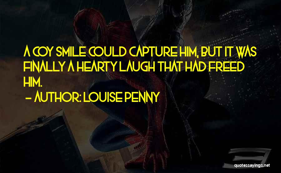 Capture Smile Quotes By Louise Penny