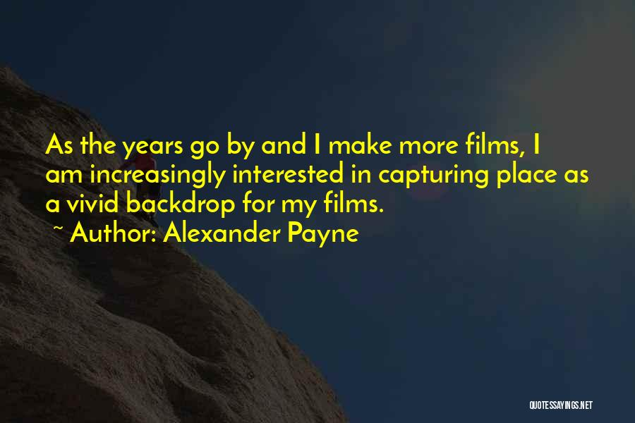 Capturing Self Quotes By Alexander Payne