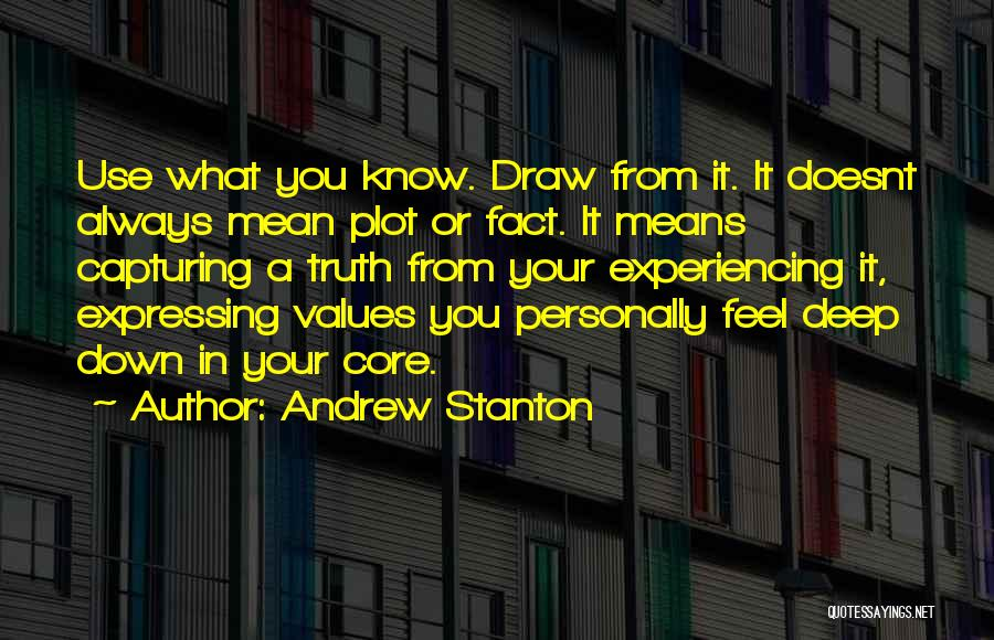 Capturing Self Quotes By Andrew Stanton