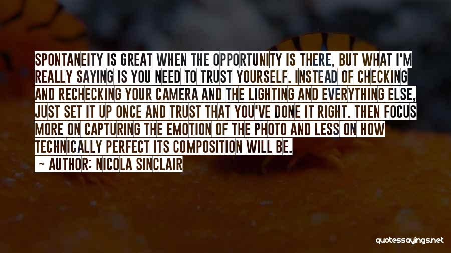 Capturing Self Quotes By Nicola Sinclair