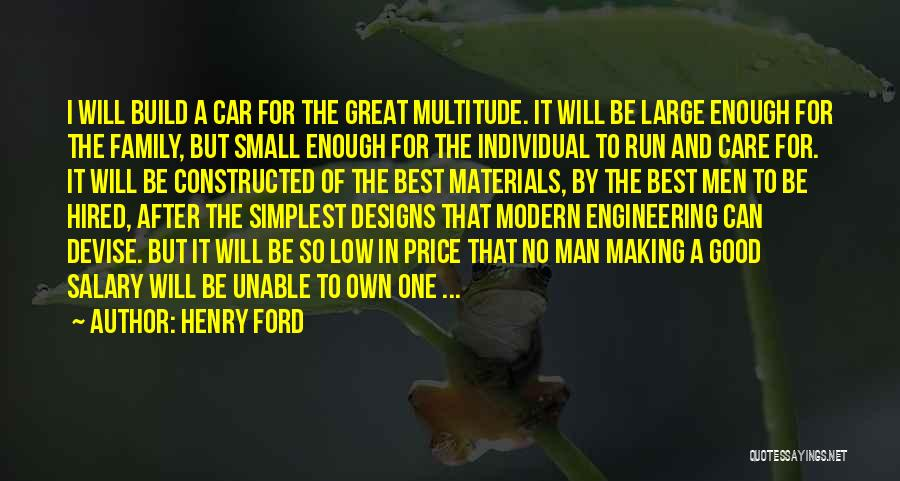 Car Care Quotes By Henry Ford
