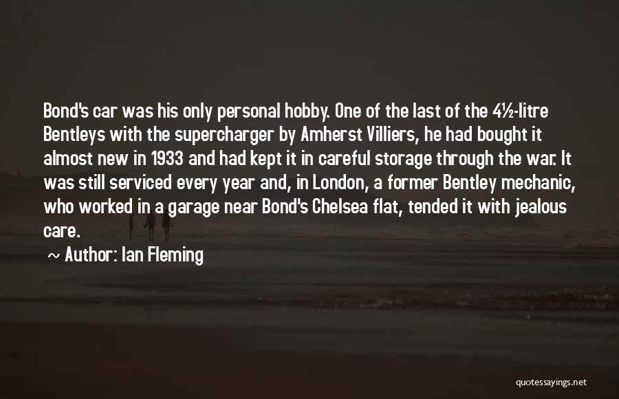 Car Care Quotes By Ian Fleming