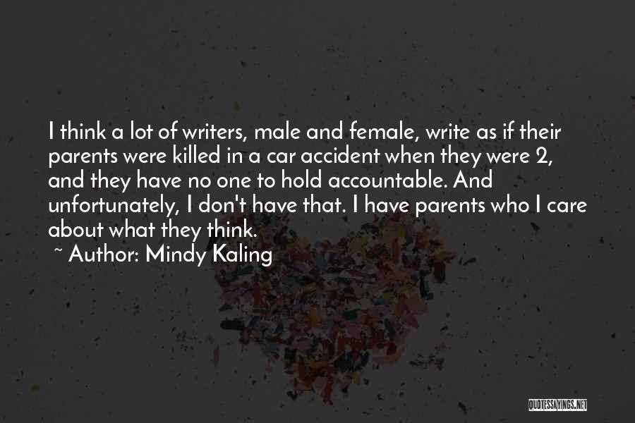 Car Care Quotes By Mindy Kaling