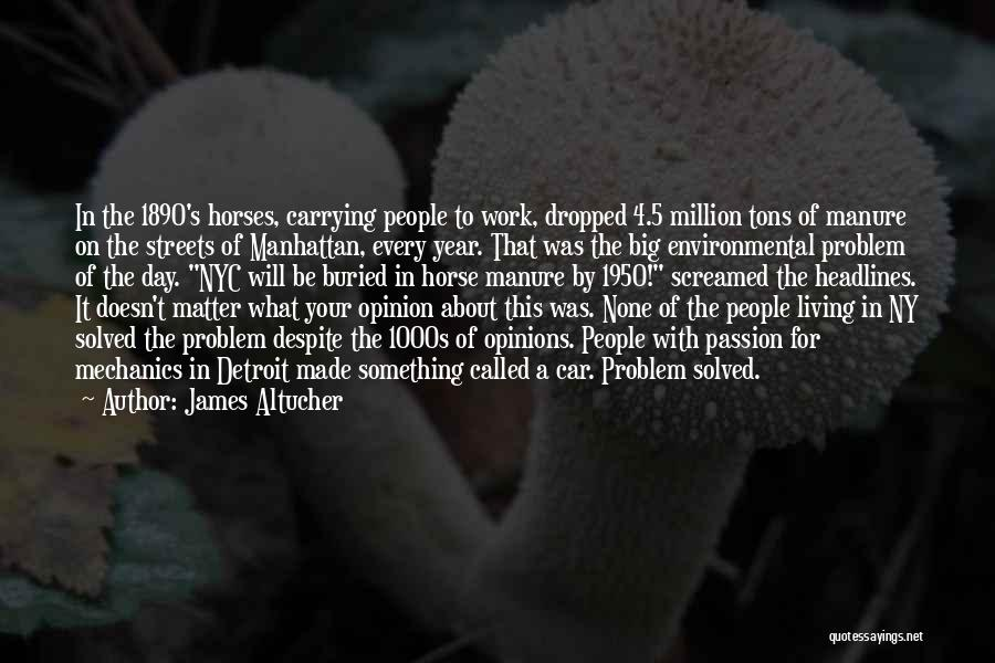 Car Carrying Quotes By James Altucher