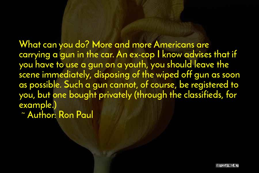 Car Carrying Quotes By Ron Paul