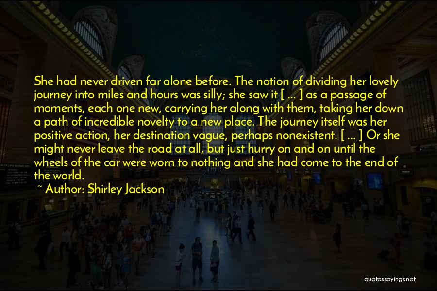 Car Carrying Quotes By Shirley Jackson