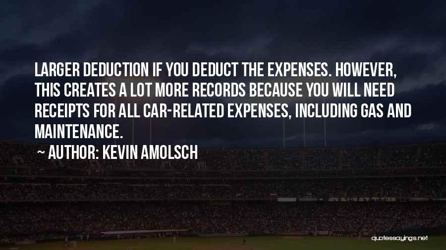 Car Maintenance Quotes By Kevin Amolsch