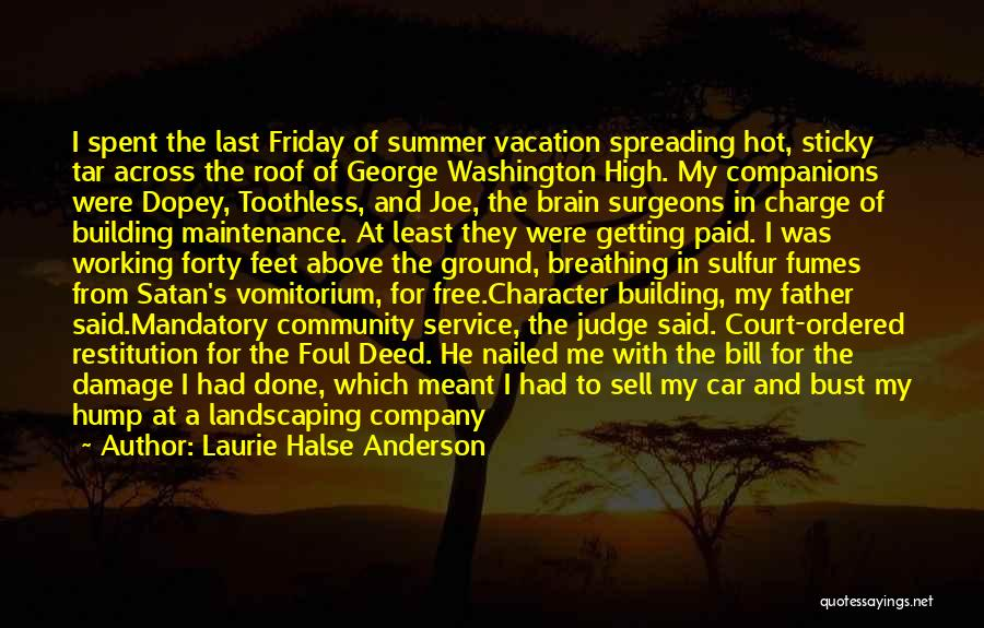 Car Maintenance Quotes By Laurie Halse Anderson