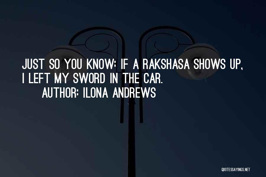 Car Shows Quotes By Ilona Andrews