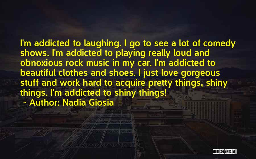 Car Shows Quotes By Nadia Giosia