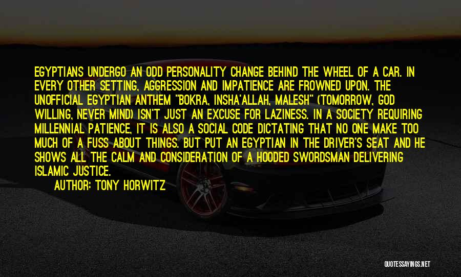 Car Shows Quotes By Tony Horwitz