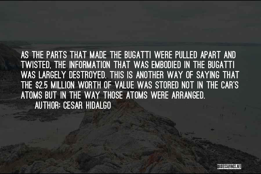 Car Worth Quotes By Cesar Hidalgo