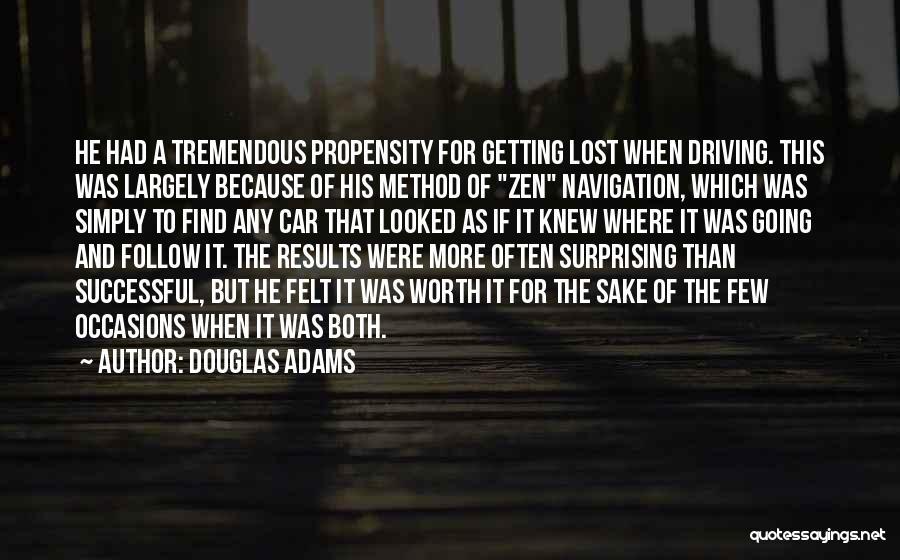 Car Worth Quotes By Douglas Adams
