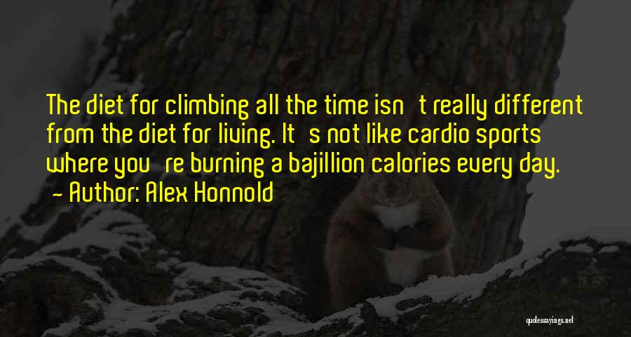 Cardio Time Quotes By Alex Honnold