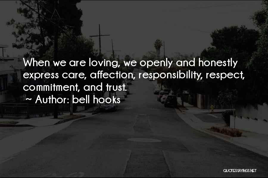 Care And Trust Quotes By Bell Hooks