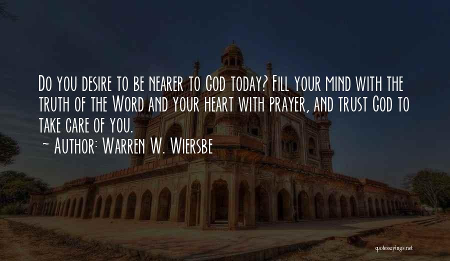 Care And Trust Quotes By Warren W. Wiersbe