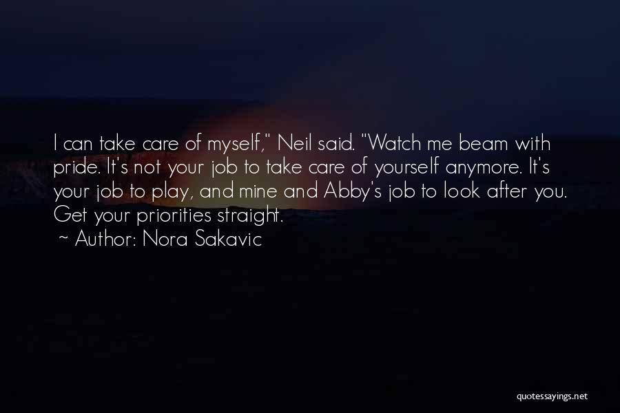 Care Anymore Quotes By Nora Sakavic