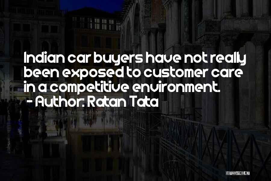 Care For Customer Quotes By Ratan Tata