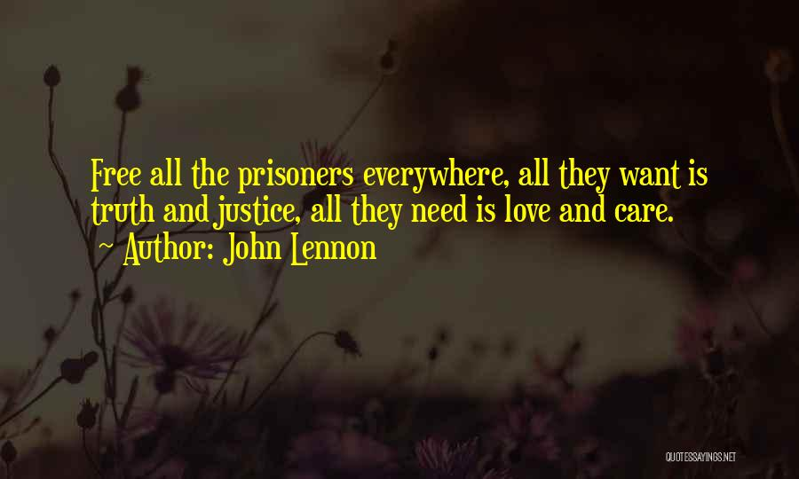 Care Free Love Quotes By John Lennon