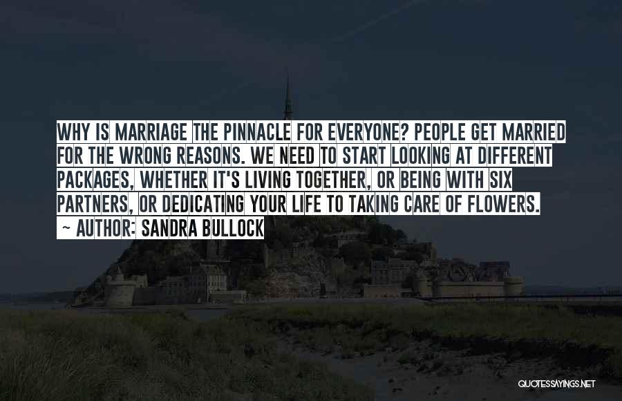 Care Packages Quotes By Sandra Bullock