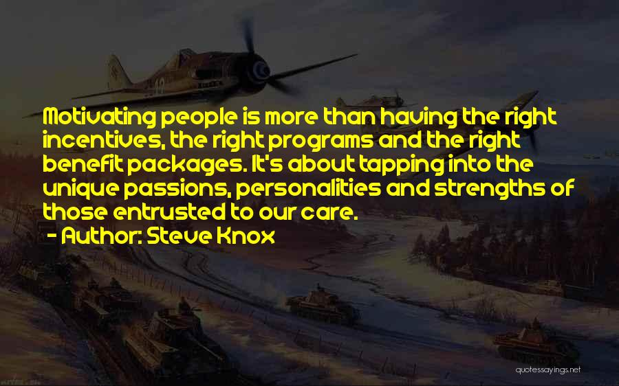 Care Packages Quotes By Steve Knox