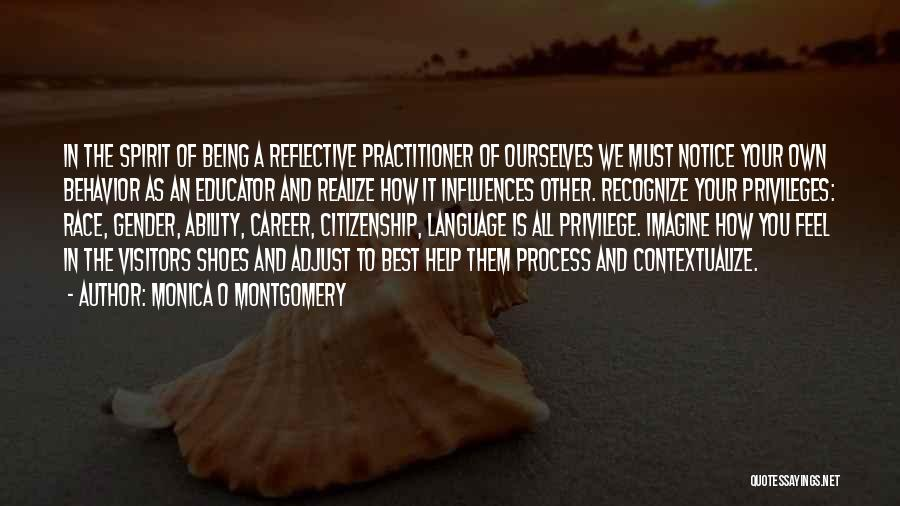 Career And Education Quotes By Monica O Montgomery