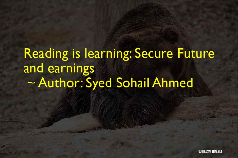 Career And Education Quotes By Syed Sohail Ahmed
