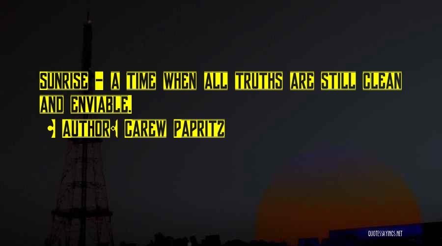 Carew Papritz Quotes 1372279