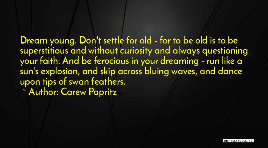 Carew Papritz Quotes 161199