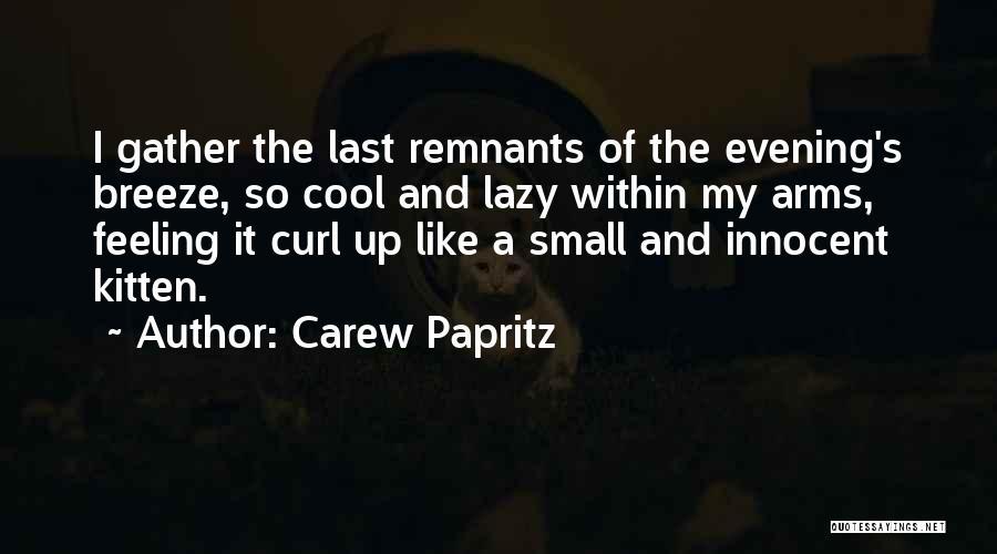 Carew Papritz Quotes 475790