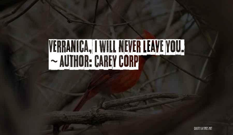 Carey Corp Quotes 2176998