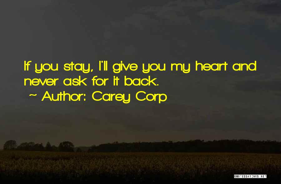Carey Corp Quotes 2256451
