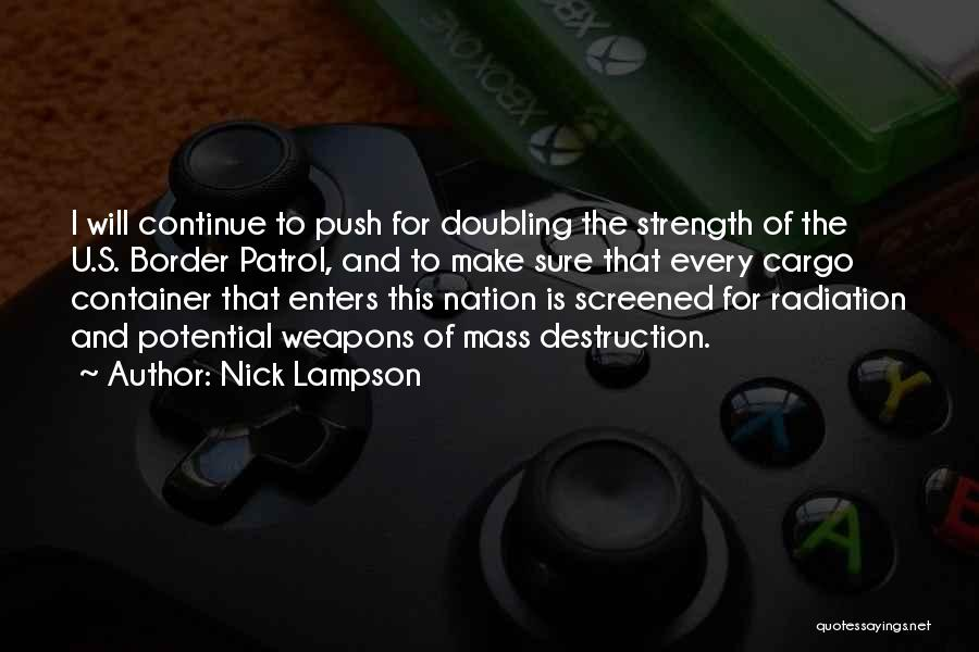 Cargo Container Quotes By Nick Lampson