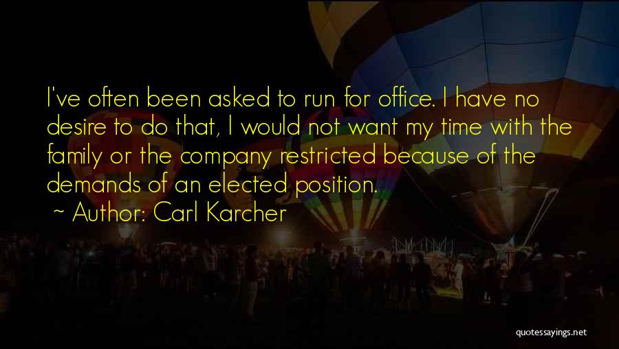 Carl Karcher Quotes 1692567