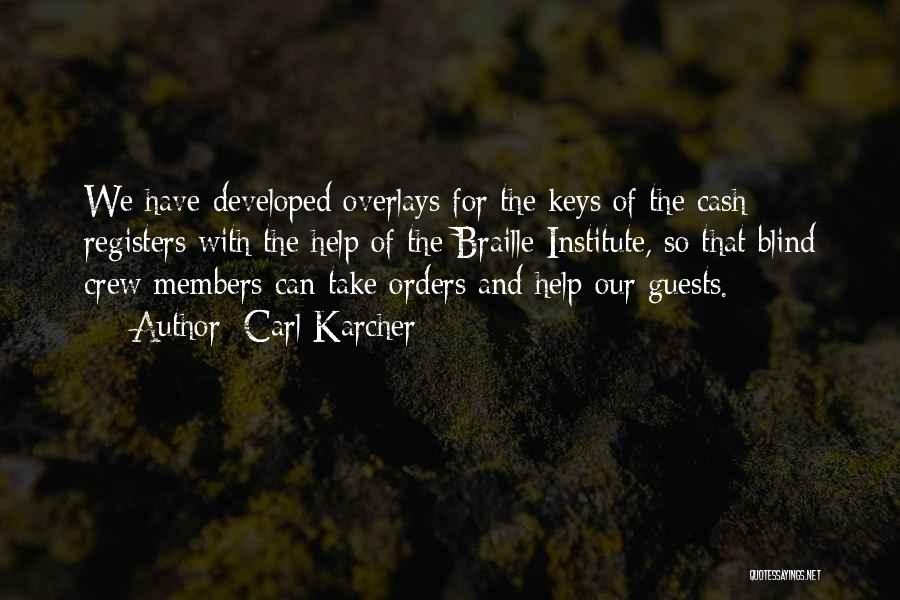 Carl Karcher Quotes 2167142