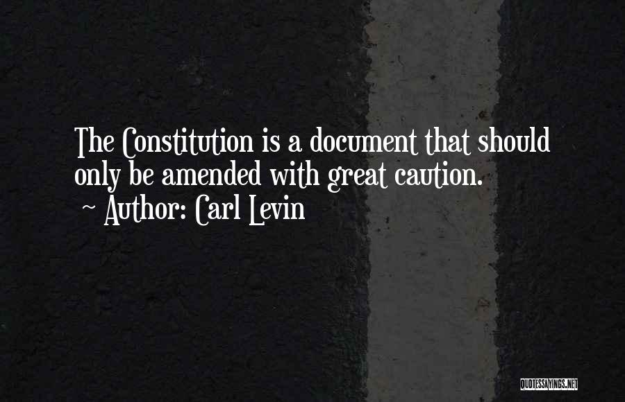 Carl Levin Quotes 1785884
