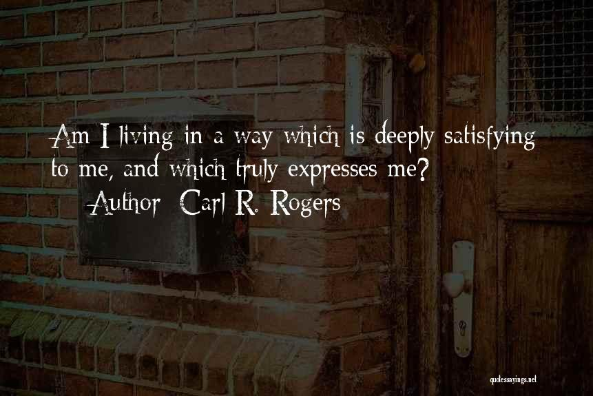 Carl R. Rogers Quotes 1543014