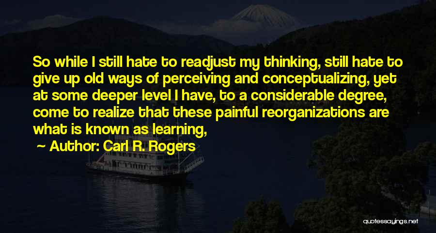 Carl R. Rogers Quotes 1746411
