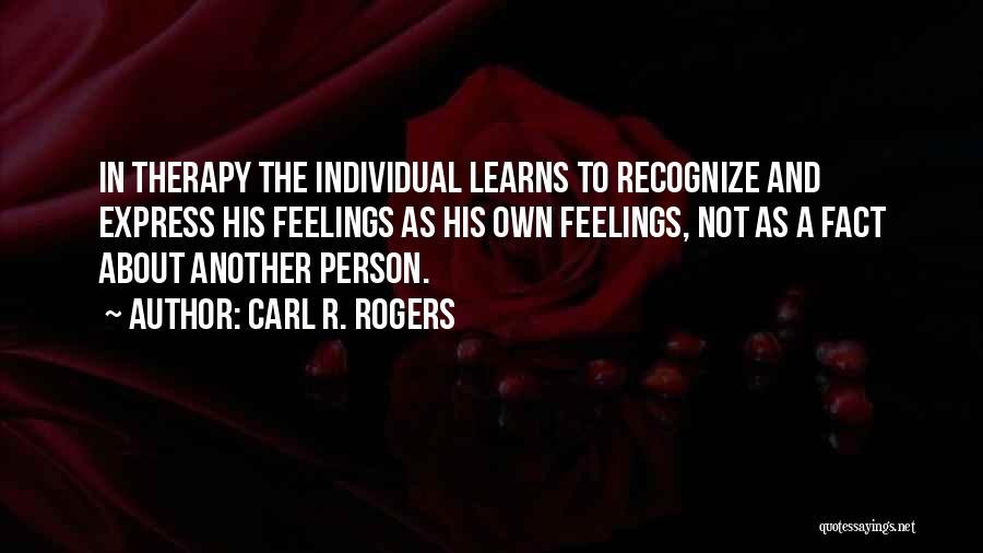 Carl R. Rogers Quotes 253844