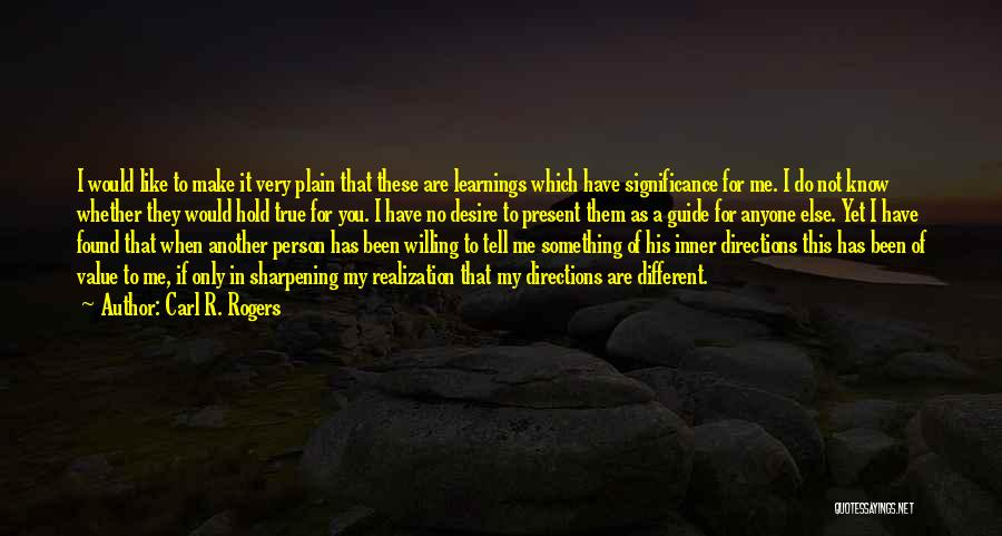 Carl R. Rogers Quotes 361565