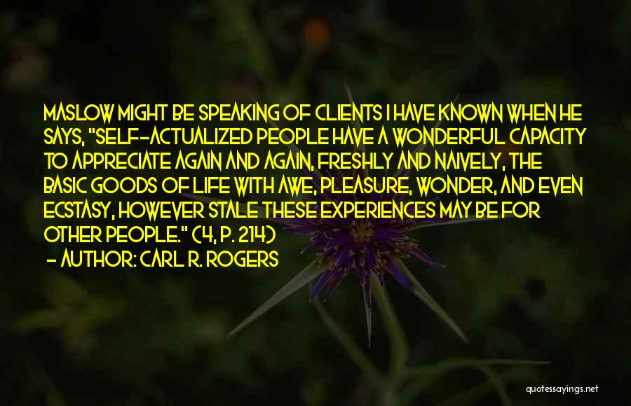Carl R. Rogers Quotes 394031