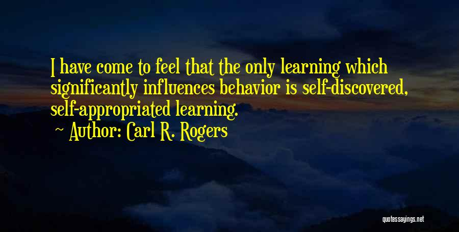 Carl R. Rogers Quotes 496739